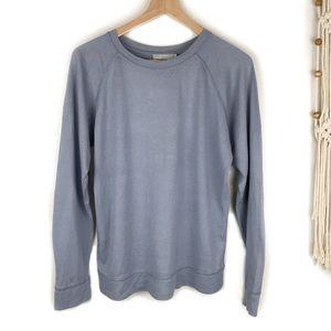 Vince Pima Cotton & Cashmere Knit Top